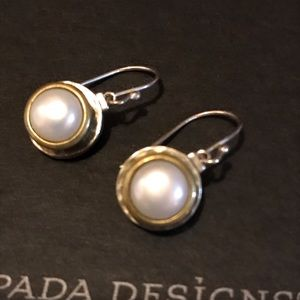 Silpada Simple Pearl Earrings